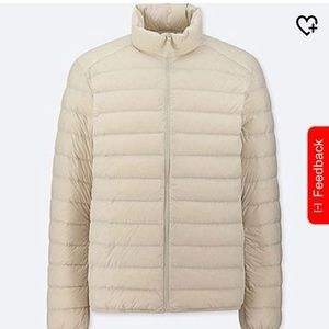 Off White Light Down Jacket